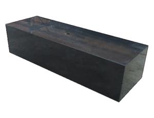 Тумба (подставка) из черного гранита