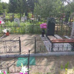 Благоустройства места захоронения №13