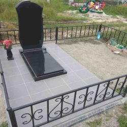 Благоустройства места захоронения №23