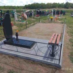 Благоустройства места захоронения №14