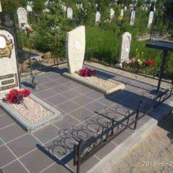 Благоустройства места захоронения №16