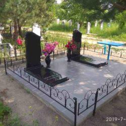 Благоустройства места захоронения №53