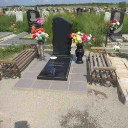 Благоустройства места захоронения №7