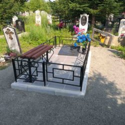 Благоустройства места захоронения №11