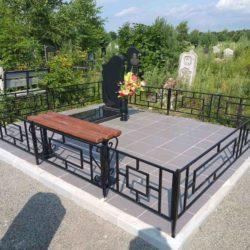 Благоустройства места захоронения №9