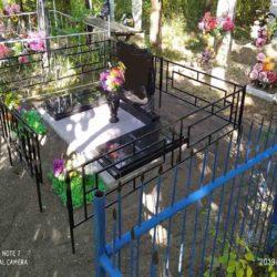 Благоустройства места захоронения №6