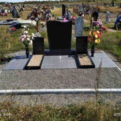 Благоустройства места захоронения №3