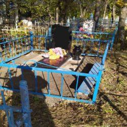 Благоустройства места захоронения №58