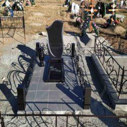 Благоустройства места захоронения №61