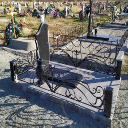 Благоустройства места захоронения №8