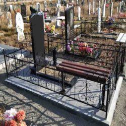 Благоустройства места захоронения №62