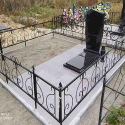Благоустройства места захоронения №63