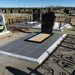 Благоустройства места захоронения №64