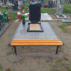 Благоустройства места захоронения №21