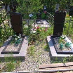 Благоустройства места захоронения №29