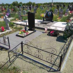 Благоустройства места захоронения №31
