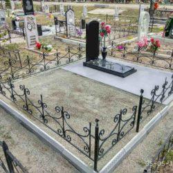 Благоустройства места захоронения №33