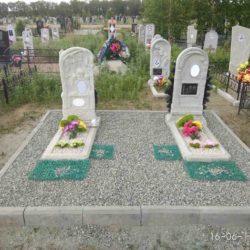 Благоустройства места захоронения №27