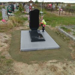Благоустройства места захоронения №37