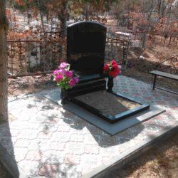 Благоустройства места захоронения №46