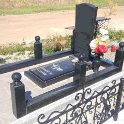 Благоустройства места захоронения №44