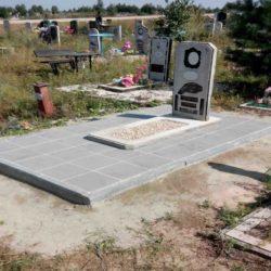 Благоустройства места захоронения №39