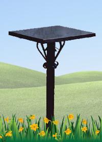 Железный столик №2