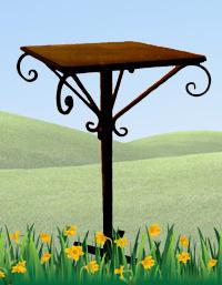 Железный столик №3