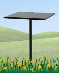 Железный столик №4