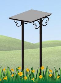 Железный столик №6