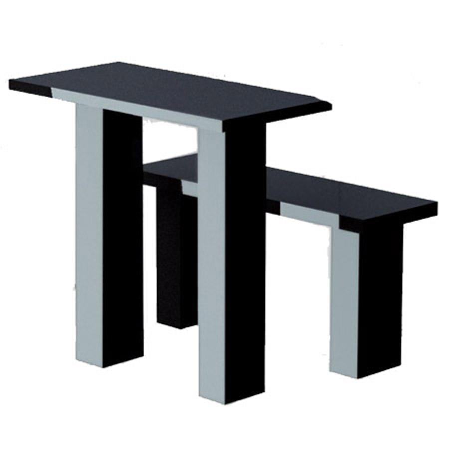 Гранитный стол и лавка tab-10