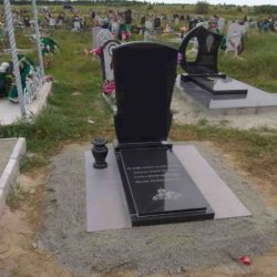 Благоустройства места захоронения №24