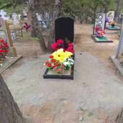 Благоустройства места захоронения №48