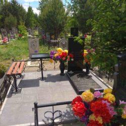 Благоустройства места захоронения №50