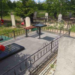 Благоустройства места захоронения №51