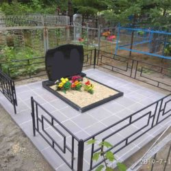 Благоустройства места захоронения №2
