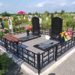 Благоустройства места захоронения №5