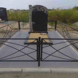 Благоустройства места захоронения №55