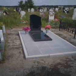 Благоустройства места захоронения №56