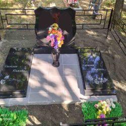 Благоустройства места захоронения №15