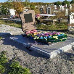 Благоустройства места захоронения №59