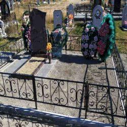 Благоустройства места захоронения №60