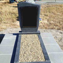 Благоустройства места захоронения №65