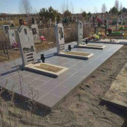 Благоустройства места захоронения №67