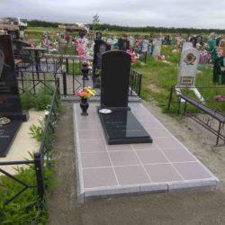 Благоустройства места захоронения №20