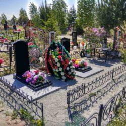 Благоустройства места захоронения №26