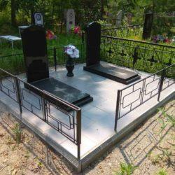 Благоустройства места захоронения №28