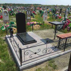 Благоустройства места захоронения №32