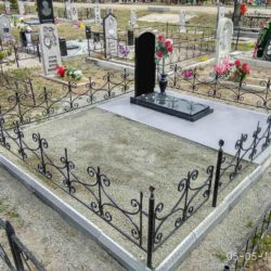 Благоустройства места захоронения №12