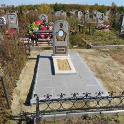 Благоустройства места захоронения №38